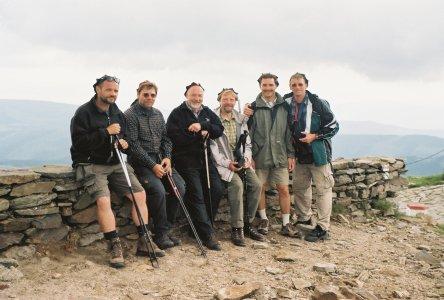 Gruppenbild in den Bergen